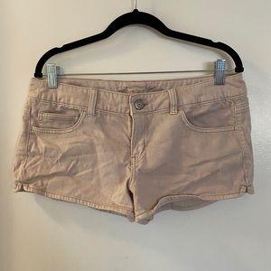 light pink shorts